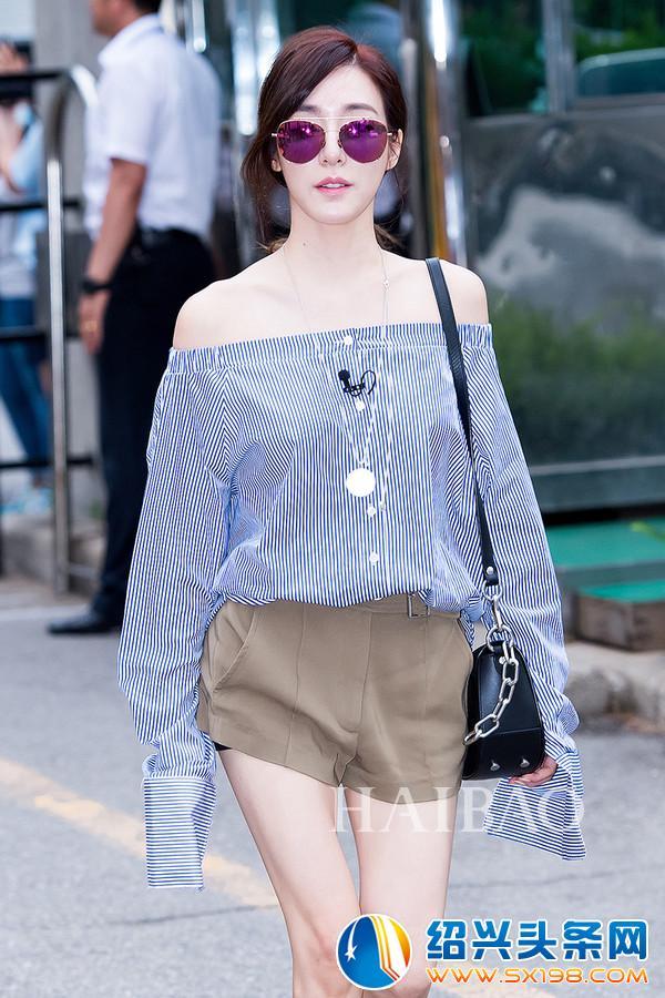 韩国女明星街拍