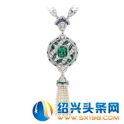 流光溢彩珠宝中国风之镜花水月图片