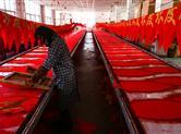 亚洲最大灯笼生产基地:日产灯笼3000个